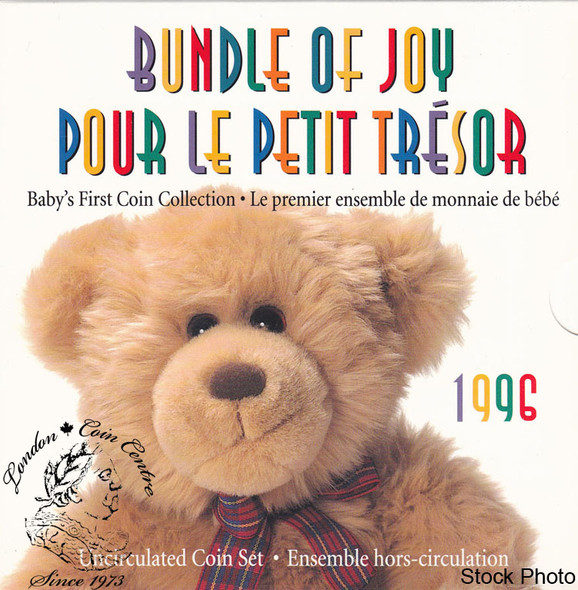 Canada: 1996 Bundle of Joy Baby Gift Coin Set