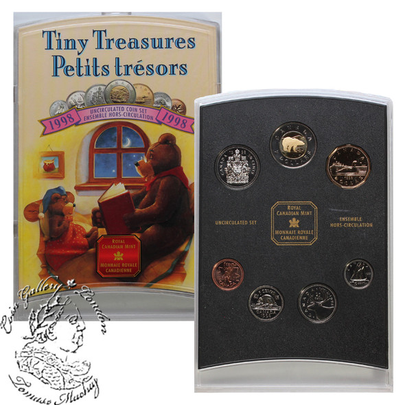 Canada: 1998 Winnipeg Mint Tiny Treasures Baby Gift Coin Set