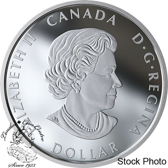 Canada: 2020 $1 Peace Dollar Pure Silver Coin
