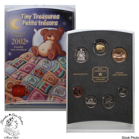 Canada: 2002 P Tiny Treasures Baby Gift Coin Set