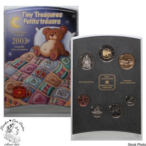 Canada: 2003 P Tiny Treasures Baby Gift Coin Set