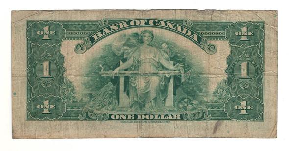 Canada: 1935 $1 Banknote - Bank of Canada English BC-1b Lot#2