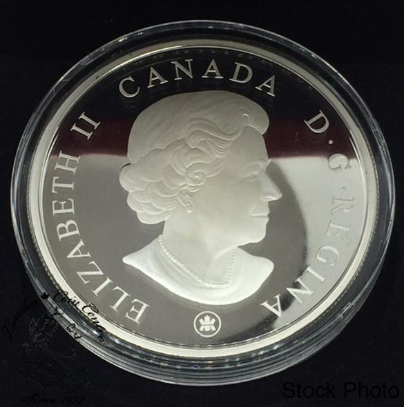 Canada: 2008 $50 100th Anniversary of the Mint 5 oz Pure Silver Coin