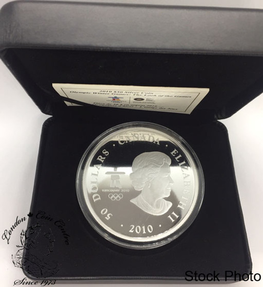 Canada: 2010 $50 Olympic Winter Games: The Look of the Games  5 oz Pure Silver Coin