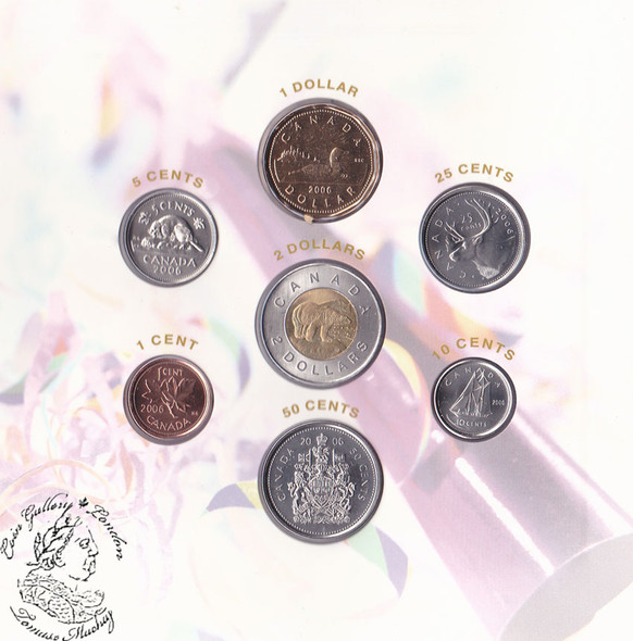 Canada: 2006 P Birthday Gift Coin Set