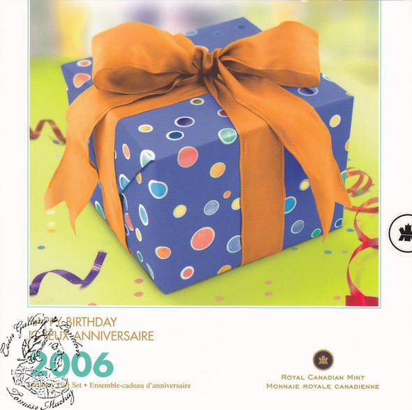 Canada: 2006 P Birthday Gift Coin Set