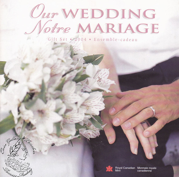 Canada: 2004 P Wedding Coin Set
