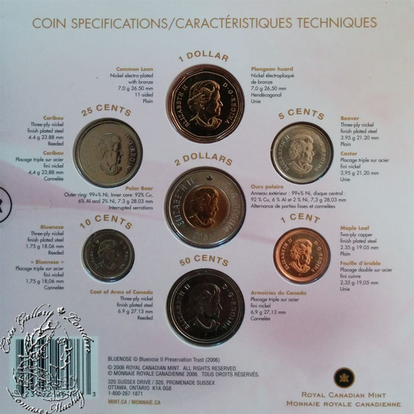 Canada: 2006 P Wedding Coin Set