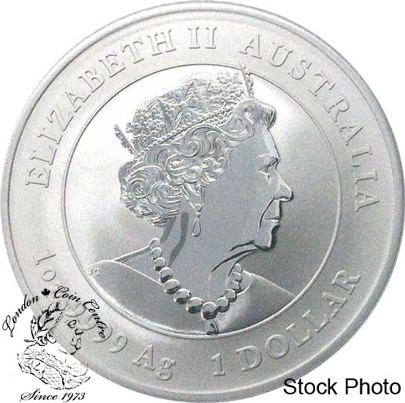 Australia: 2020 $1 Year of the Mouse 1 oz. Pure Silver Coin