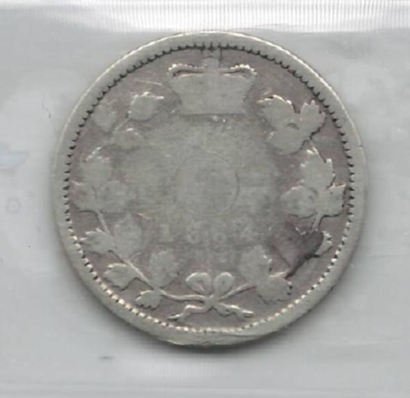 Canada: New Brunswick: 1864 10 Cents ICCS Poor