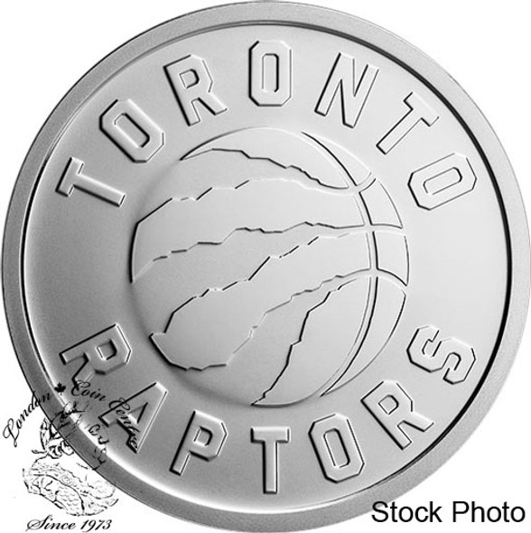 Canada: 2020 25 Cent Toronto Raptors 25th Season Coin