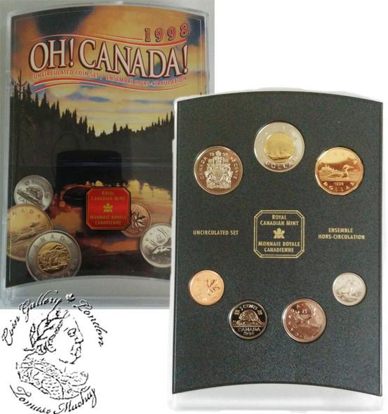 Canada: 1998 Ottawa OH! Canada Coin Set