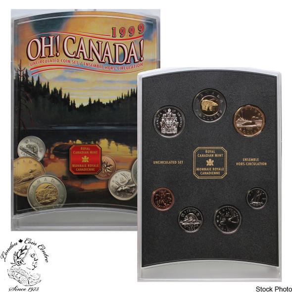 Canada: 1999 OH! Canada Coin Set