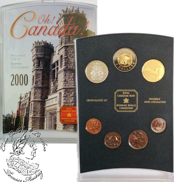 Canada: 2000 OH! Canada Coin Set
