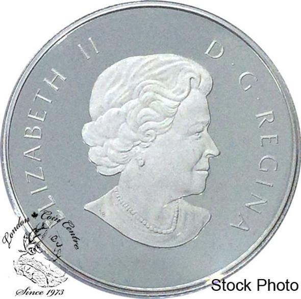 Canada: 2011 $4 Born in 2011 Baby Feet Silver Coin