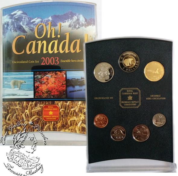 Canada: 2003 OH! Canada P Coin Set
