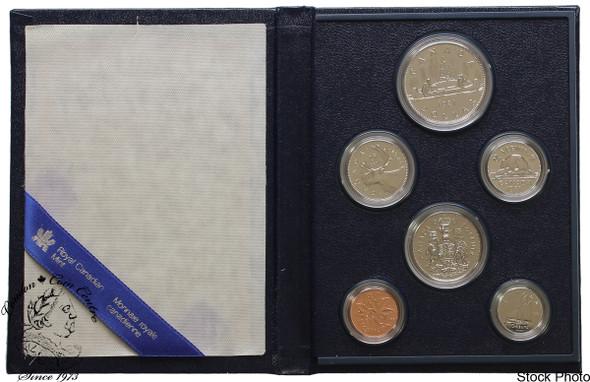 Canada: 1981 Specimen Coin Set