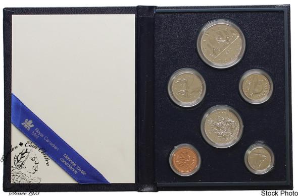 Canada: 1982 Specimen Coin Set