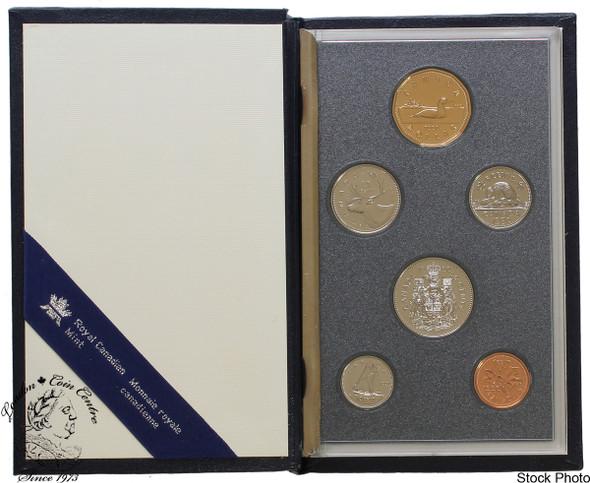 Canada: 1990 Specimen Coin Set