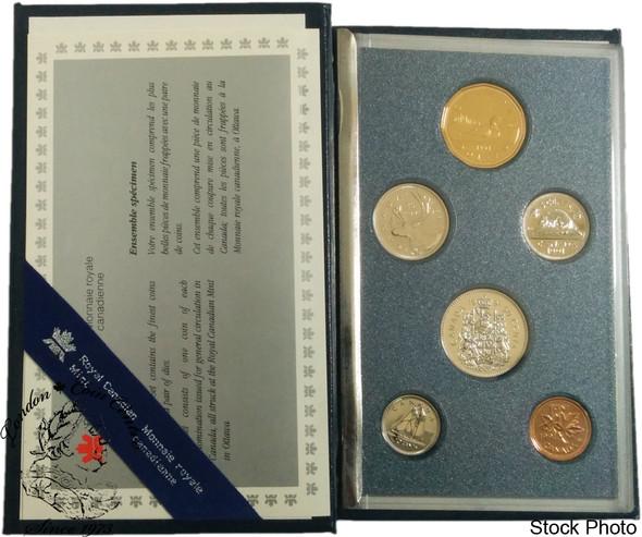 Canada: 1991 Specimen Coin Set