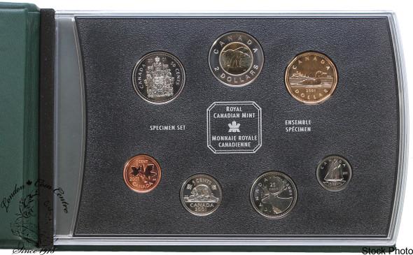Canada: 2001P Specimen Coin Set