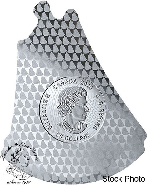 Canada: 2020 $50 Real Shapes: The Bluenose Pure Silver Coin