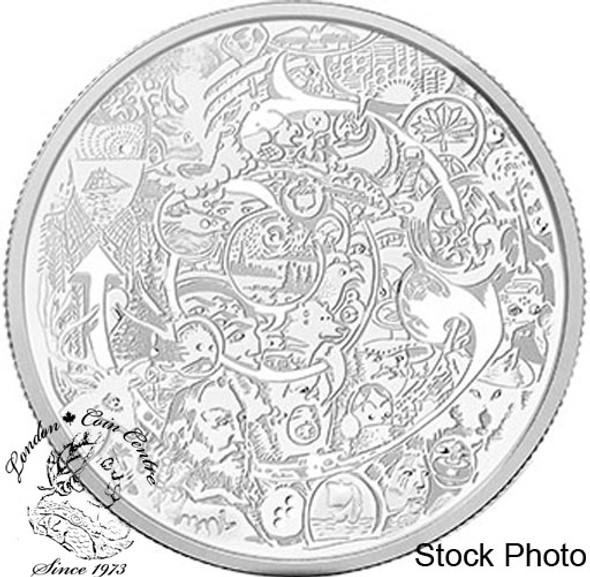 Canada: 2014 $30 Canada Through the Eyes of Tim Barnard 2 oz Silver Coin