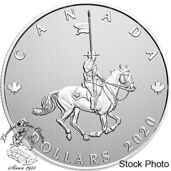 Canada: 2020 $5 Moments to Hold: Celebrating 100 Years of the RCMP as Canada's National Police Force Fine Silver Coin