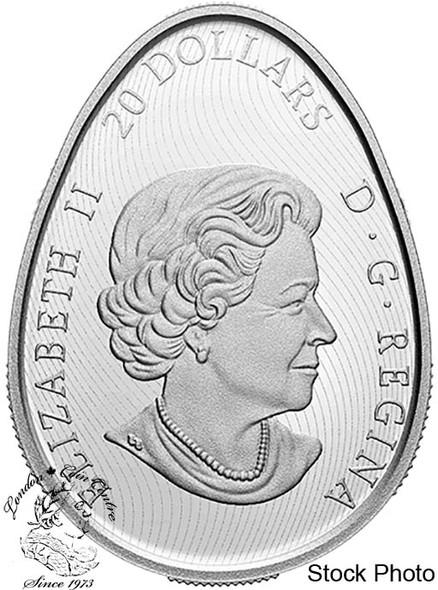 Canada: 2020 $20 Traditional Pysanka Fine Silver Coin