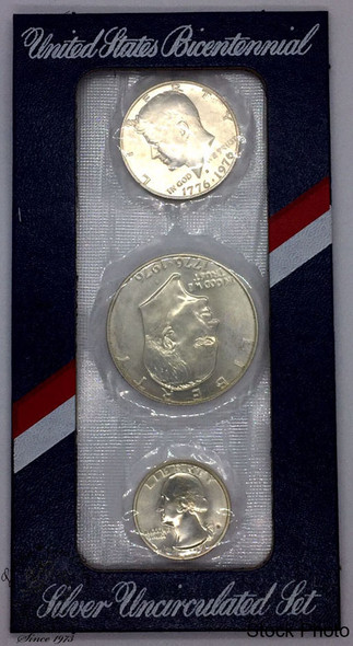 United States: 1976 Bicentennial Silver Uncirculated Set