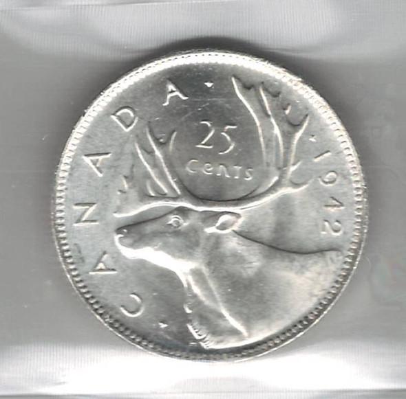 Canada: 1942 25 Cent ICCS MS63