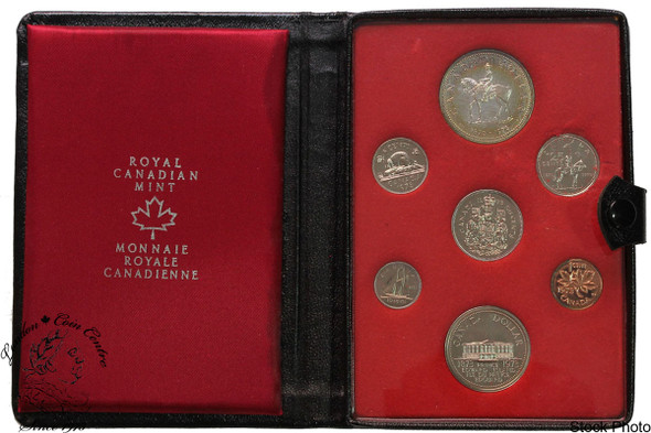 Canada: 1973 PEI Double Dollar Set with Small Bust Quarter