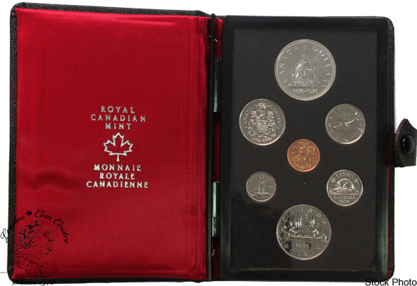 Canada: 1976 Parliament Double Dollar Set