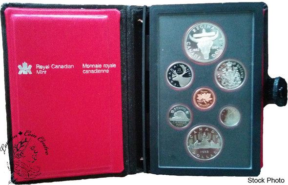 Canada: 1982 Skull Double Dollar Set