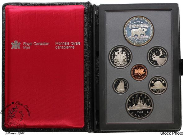 Canada: 1985 Parks Double Dollar Set