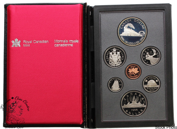 Canada: 1986 Vancouver Double Dollar Proof Set