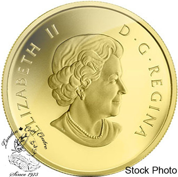 Canada: 2014 $5 Grizzly Bear 1/10 oz Pure Gold Coin