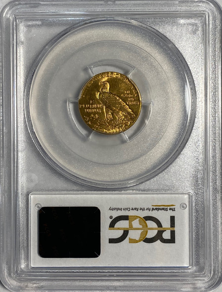 United States: 1925-D $2.50 Indian Head Gold Coin PCGS MS64