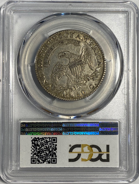 United States: 1823 50 Cent PCGS XF40