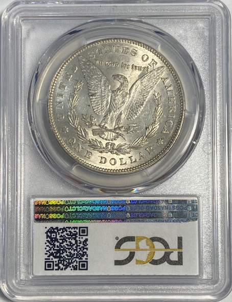 United States: 1878 Morgan Dollar 7 Tail Feathers Reverse of 1878 PCGS MS62