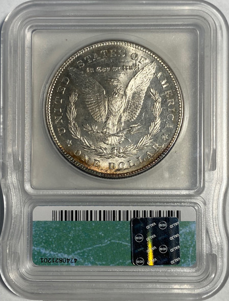United States: 1878 Morgan Dollar 7 Tail Feathers ICG MS63