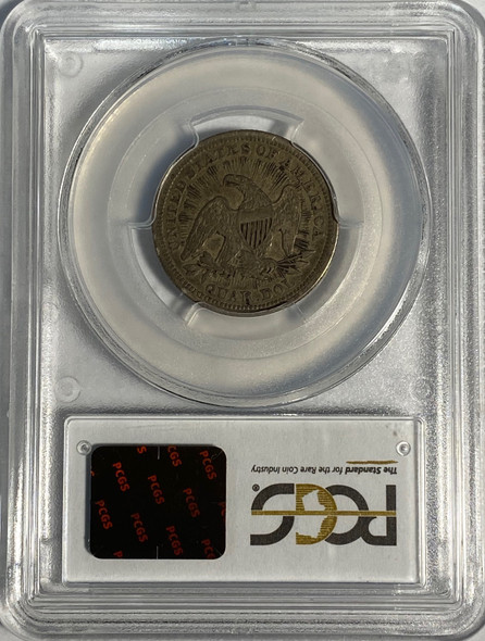 United States: 1853 25 Cent Arrows and Rays PCGS VF30