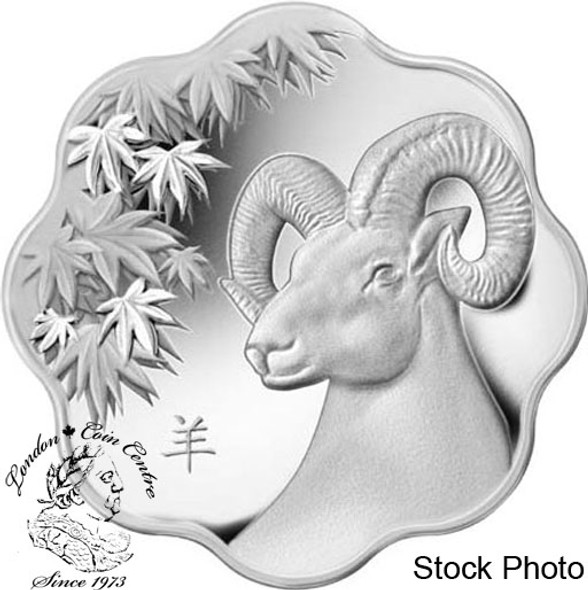CANADA  YEAR OF THE SHEEP SILVER 10$ 2015
