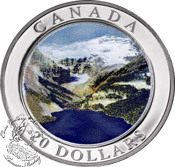 Canada: 2003 $20 Natural Wonders - The Rockies 1 oz Pure Silver Coin