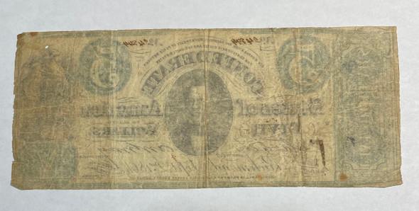 United States: 1861 $5 Confederate States of America Richmond T33 Contemporary Counterfeit