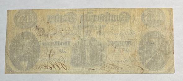 United States: 1861 $10 Confederate States of America Richmond T25