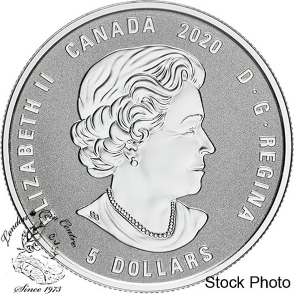 Canada: 2020 $5 Birthstones: May Fine Silver Coin
