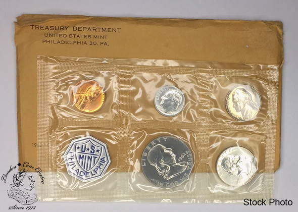 United States: 1962 Philadelphia Uncirculated Proof Coin Set