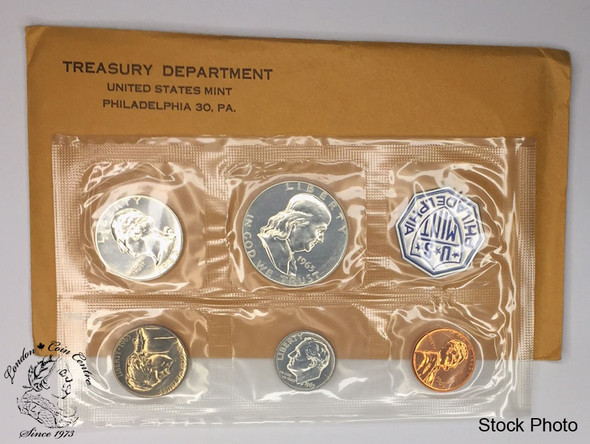 United States: 1963 Philadelphia Uncirculated Proof Coin Set