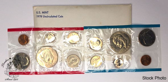 United States: 1978 Uncirculated Coin Set